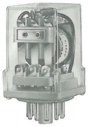 Plug-in industrial relay RELECO MR34 or MR54